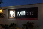 Milford has an unintentional change of image.  Photo / Supplied