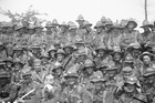 Seven hundred New Zealanders died in two days of fighting for the Belgian town of Messines in June 1917. Photo / Alexander Turnbull Library