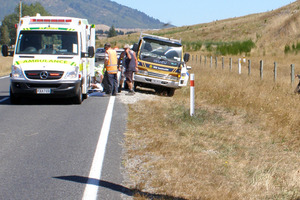 The attack happened on Broadlands Rd, near Taupo. The rider was flown to Rotorua Hospital. Photo / Greenlea rescue helicopter