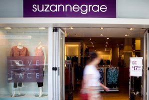 Eight of the 19 New Zealand Suzanne Grae stores are in Auckland. Photo / Natalie Slade