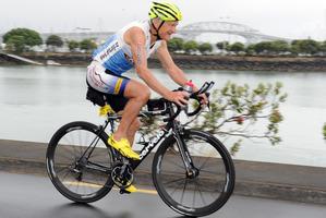 Garth Barfoot, aged 76, found his niche in triathlon.  Photo / Supplied