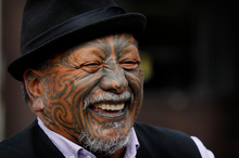Tame Iti wants to discuss with the Parole Board and Government his ideas to cut back the numbers of young Maori men going to jail. Photo / Christine Cornege