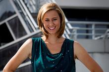 New Fair Go host Pippa Wetzell hasn't missed the limelight. Photo / Sarah Ivey