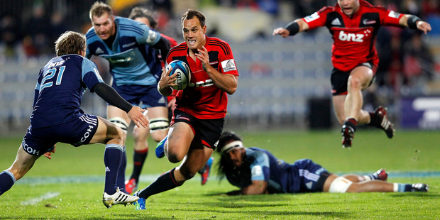 Crusaders coach Todd Blackadder is trying to get the best out of Israel Dagg. Photo / Getty Images