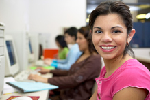 Employers find women work well in computing as they adapt easily to listening to customers and solving problems. Photo / Getty Images