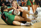 When the ball hits the floor, Laura Langman and her champion Magic team-mates could have an edge thanks to their wrestling training. Photo / Getty Images