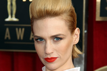 January Jones likes to lead a busy life.Photo / AP