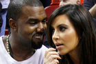 It's a girl for Kanye West and his girlfriend Kim Kardashian.Photo / AP