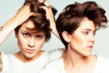 Canadian indie rock duo Tegan and Sara. Photo / Supplied