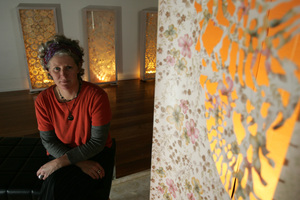 Cristina Beth is showing at Lopdell House. Photo / NZ Herald