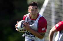 Star halfback Shaun Johnson will be forced to watch the start of the NRL season from the sidelines after injuring his elbow. Photo / Getty Images