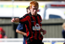 Canterbury United player Aaron Clapham.  Photo / NZ Herald
