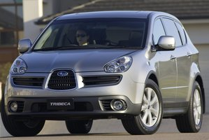 Subaru Tribeca. Photo / Supplied