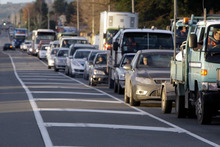 Instead of taking traffic off congested suburban roads, high tolls may mean too few cars use the toll road. Photo / APN