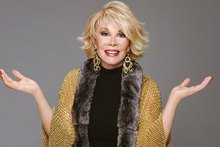 Comedian, Joan Rivers for Canvas NZH 11mar06 - ROT 8jun06 - SUN 17sep06 - NZH 29sep06 - TIM 26apr07 - TIM 31may07 - 