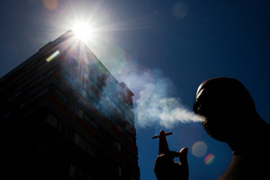 An expert says more smoke-free areas are needed if the Government's goal is to be achieved. Photo / Brett Phibbs