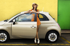 A Fiat 500 is small but it is Italian. Photo / Supplied