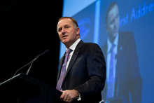 John Key has brushed off criticism, and his party is riding high in the polls. Photo / Brett Phibbs 