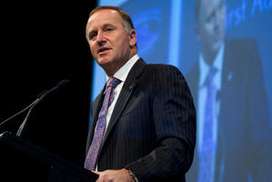 Prime Minister John Key. Photo / Brett Phibbs