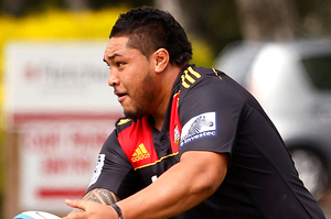 Ben Tameifuna is in good shape after addressing weight and discipline problems. Photo / Christine Cornege