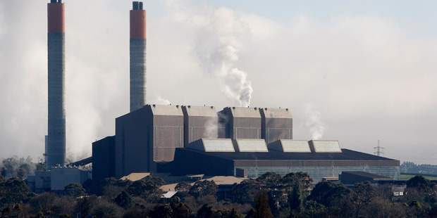 The Huntly Power Station, part of Genesis Energy's generation portfolio. Photo / NZ Herald