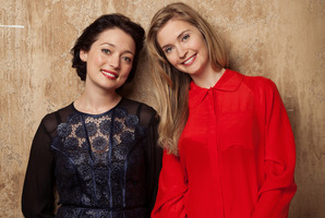 Antonia Prebble (left) and Siobhan Marshall appear in the TV3 drama The Blue Rose, which has lost its 8.30pm timeslot. Photo / Supplied