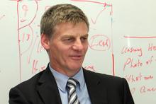 Finance Minister Bill English. Photo / Glenn Taylor