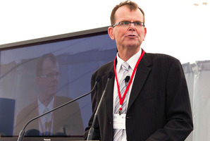 Dr Rick Ede, Unitec speaking at the event. Photo / File