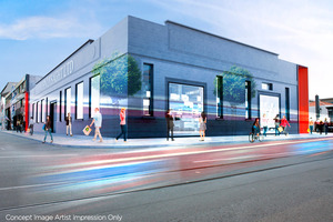 Artist's impressions of the Lysaght Building, soon to be renovated as part of the Wynyard Precinct. Photo / File