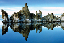 Mono Lake in Mono County, California, USA. A scene from Samsara.