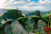 Director Sam Raimi has created his own fantasy land in Oz The Great and Powerful. Photo / Supplied