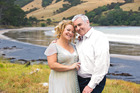 Kerre Woodham and Tom McIvor. Kerre has now changed her name to Mrs Kerre McIvor. Photo / Todd Eyre
