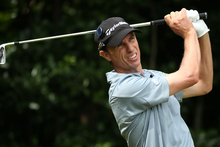 Hamilton-born Steven Alker won the New Zealand PGA Championship at Clearwater in 2009. Photo / Getty Images.