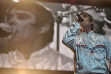 The Stone Roses' Ian Brown on stage at Vector Arena. Photo / Nigel Moore, UnderTheRadar Photo / Photo / Nigel Moore, UnderTheRadar