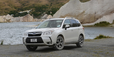 The Subaru Forester XT introduces a new direct injection turbocharged 2.0-litre Boxer engine which is paired to the Lineartronic transmission. Photo / Colin Smith