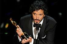 Bret McKenzie delivers his Oscar acceptance speech.