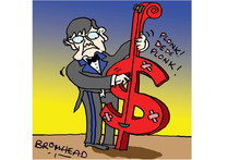 Cartoon / Peter Bromhead 