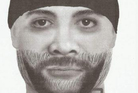 Christchurch police released this composite image of the man suspected of attacking the woman. Image / Supplied