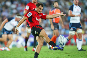 Israel Dagg will play on the wing against the Blues. Photo / Getty Images