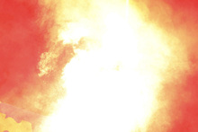 A girl was injured by a flare set off in a moshpit at Soundwave Festival. Photo/AP