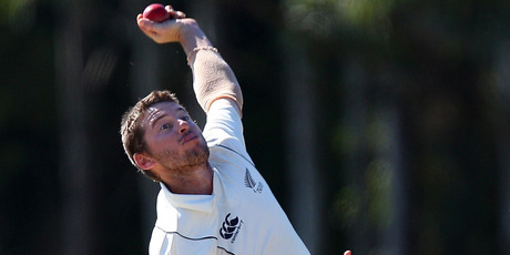 Bruce Martin is hoping to end 14 seasons of striving to play test cricket. Photo / Getty Images