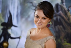 Mila Kunis will be the new face of an ethical gemstone company.Photo / AFP