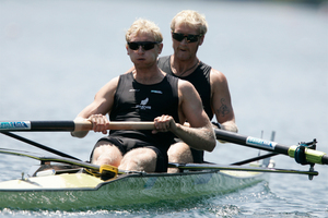 Noel Donaldson will look after the men's pairs (Hamish Bond and Eric Murray) as well as the fours and eights.
