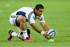 Piri Weepu played his 100th Super Rugby game in Wellington.Photo / Getty