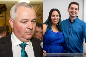 MP Richard Prosser, Khayreyah Wahaab and her husband Jason (Naveed) Kennedy. Photos / Mark Mitchell, Natalie Slade