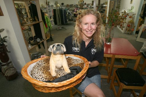 COMMUNITY OPPORTUNITY: Shop manager Fleur Harlick will be in charge of the new Wairarapa SPCA opportunity shop opening on Chapel St.