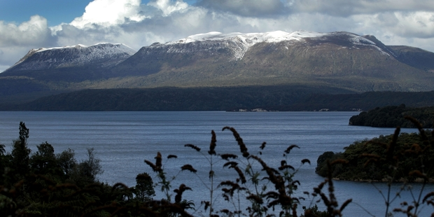 SPLIT IN TWO: Mount Tarawera has loomed large over Rotorua and its residents since a violent eruption in 1886. PHOTO/FILE