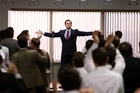 DiCaprio as Jordan Belfort. Photo / AP