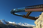 The cliff-edge Glacier Skywalk in the Canadian Rockies will open in May, offering majestic views and a glimpse of life from millions of years ago.
