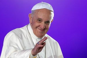 Pope Francis' attack on the wealthy may make some rich people 'incapable of feeling compassion for the poor'. Photo / AP